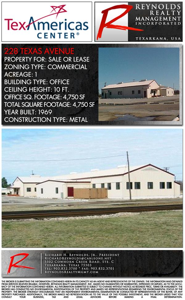 Industrial 228 Texas Avenue