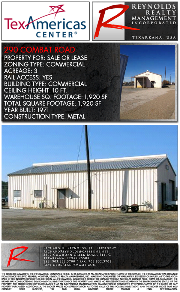 Industrial 290 Combat Road