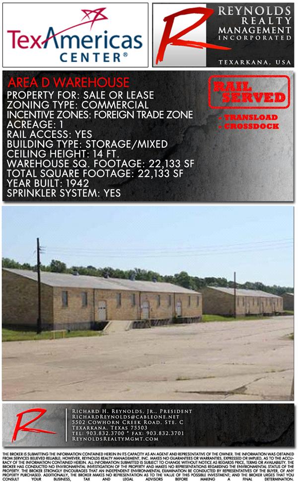 Industrial Area D Warehouse